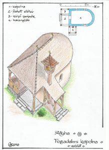 Idén újraépült a fogadalmi kápolna - szerényebb kivitelben, de áll
