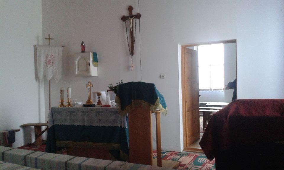 Itt tartják a szentmiséket